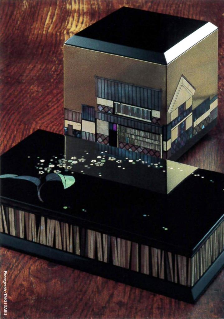 三好かがり漆展 -彩切貝の小箱たち-