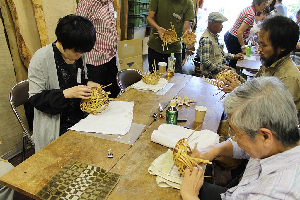 竹の講習会